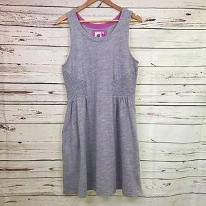 Anthropologie | Lilka Heather Gray Cotton Dress